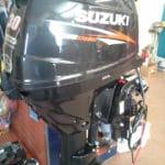 Moteur Suzuki 30hp 2015