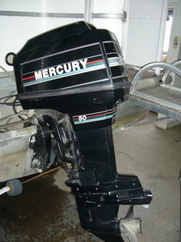 Moteur Mercury 50hp