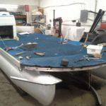 Restauration d'un plancher de ponton