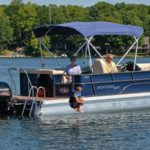 Deluxe Cruising Pontoon